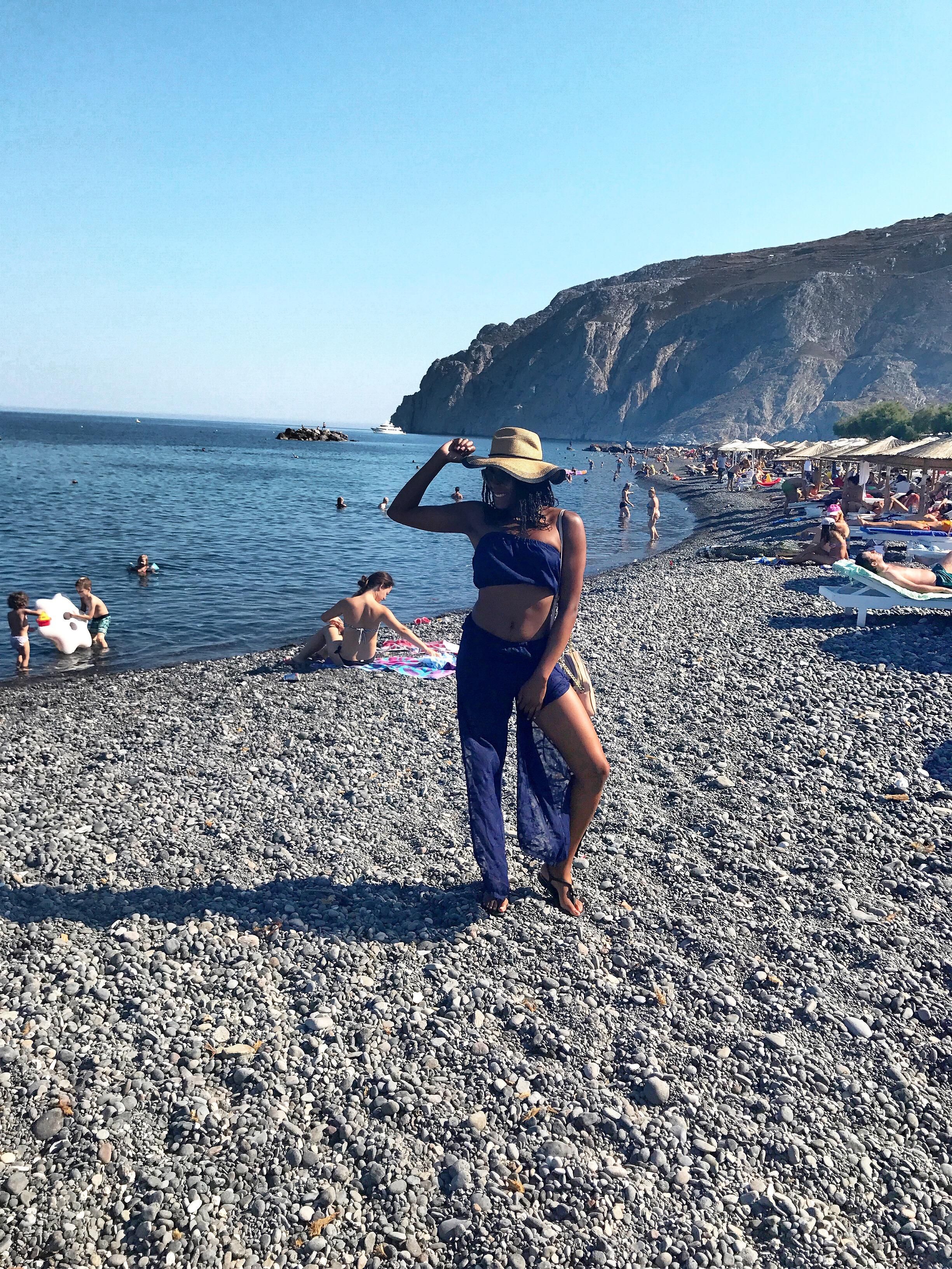 Santorini day 2 OOTD